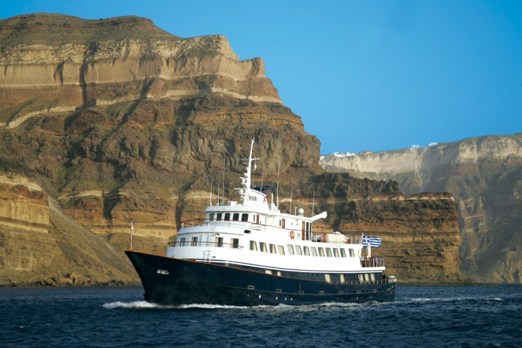 The Callisto in Santorini